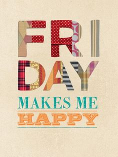 Friday makes me happy:) #gelkardesimgel