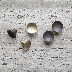 Dish Knob - Matte Bronze