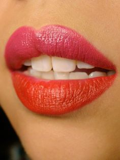 Color Block Lips