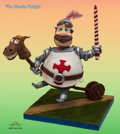 The Candy Knight - Cake by Dirk Luchtmeijer