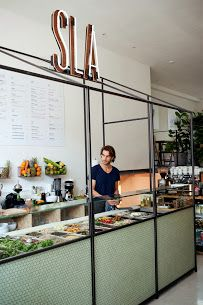 sla amsterdam - Great for a nice lunch of some yummy salads. Not your average salad bar.