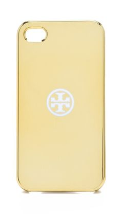 Tory Burch Metallic iPhone 4 case. Wish they had one on iPhone 5!