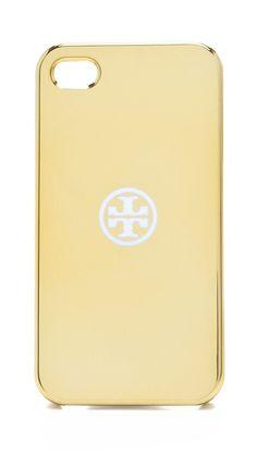 Tory Burch Metallic iPhone 4 Case