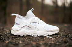 """Nike Unveils A """"Triple White"""" Air Huarache Ultra"""