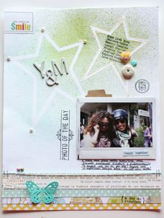 Crafting ideas from Sizzix UK: Layout Ideas