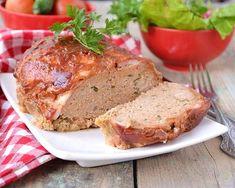 Pain de viande au lard