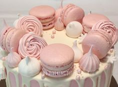 Pavlova, Royal Icing, Meringue, Macarons, Cheesecake, Sweets, Cupcakes, Desserts, Recipes