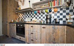 RestyleXL Landelijke keuken - RestyleXL kasten