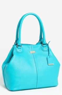 Bold blue! Cole Haan Village Convertible Leather Tote