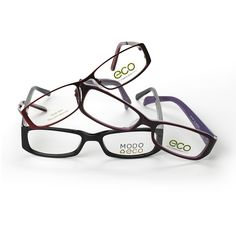 ECO by Modo Eyewear  www.modo.com  www.eco-optics.com