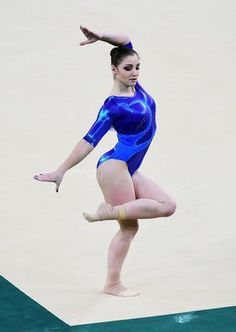 Aliya Mustafina Photos Photos - Aliya Mustafina of Russia competes on the floor during the Women's Individual All Around final on Day 6 of the 2016 Rio Olympics at Rio Olympic Arena on August 11, 2016 in Rio de Janeiro, Brazil. - Gymnastics - Artistic - Olympics: Day 6