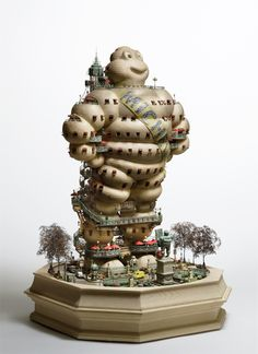 Hôtel de Michelin by Takanori Aiba front view