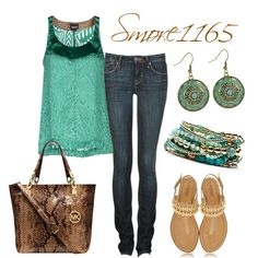 """Jade Summer Style"" by smores1165 on Polyvore"