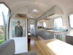1978 Airstream renovation by Architect Matthew Hofmann