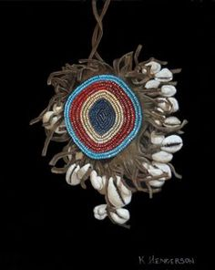Assiniboine Amulet - American Indian