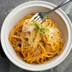 Aubergine Pasta | sheerluxe.com