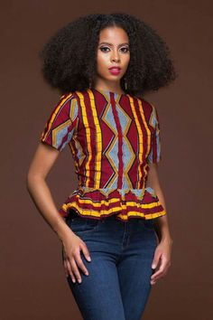 Friday Swag with Ankara Tops! African Fashion Designers, African Fashion Ankara, African Print Fashion, Africa Fashion, African Print Clothing, African Shirts, African Print Dresses, African Dress, Ankara Tops
