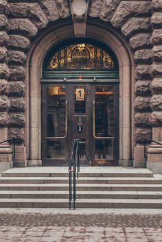 Door in Stockholm, Sweden