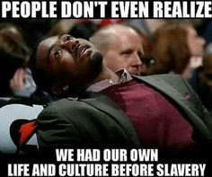 Right I feel this way Evey time someone brings up black people and Christianity