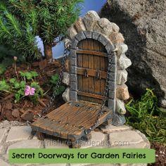 Secret Doorways for Garden Fairies