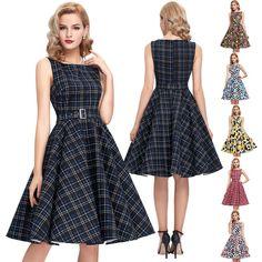 Vintage style klamotten  King Louie 50er Jahre Vintage Punkte Kleid - Ballroom Partypolka ...