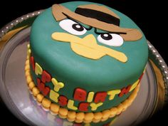 Phineas and Ferb Birthday Cake