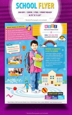 Junior School Promotion - Corporate Flyers