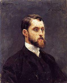 Julius Leblanc Stewart, Self Portrait