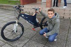 Instagram picutre by @mobilevehicle: Our member @z_drazic on #public #presentation #ebike #croatia Foto: 24sata - Shop E-Bikes at ElectricBikeCity.com (Use coupon PINTEREST for 10% off!)