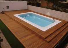 Creating Your Own Swimming Wooden Pool Deck