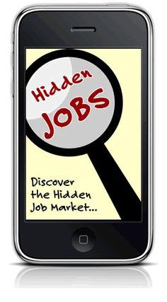 "Hidden Job Report (""discover the hidden job market"")"