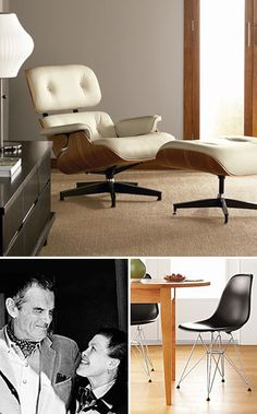 1000 images about interesting people on pinterest sammy hagar jackie kennedy and carole lombard - Eames meubels ...