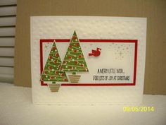 Festival of Trees by D. Daisy - Cards and Paper Crafts at Splitcoaststampers