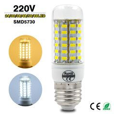 Find More LED Bulbs & Tubes Information about High Power 220v LED Lamp E27 E14 Replace 7W 12W 15W 18W 20W Fluorescent Light SMD 5730 24/36/48/56/69LEDs Lampada led Bulb,High Quality e27 led,China e27 a19 Suppliers, Cheap e27 globe from Gary-Cheung on Aliexpress.com