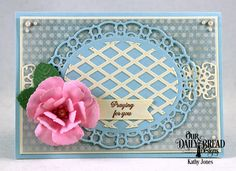 Hello Everyone!!  Today I have another quick card for you using some of the latest offerings by ODBD !  As you can see, I'm at it again w...