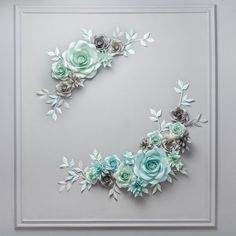 This Paper flower Backdrop Alternative Wedding Arch - Paper Flower Centerpiece is just one of the custom, handmade pieces you'll find in our backdrops & props shops. Large Paper Flowers, Paper Flower Wall, Flower Wall Decor, Paper Floral Arrangements, Paper Flower Centerpieces, Paper Flower Backdrop Wedding, Wedding Paper, Wedding Flowers, Wedding Frames