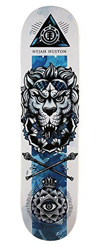 Best price Element Nyjah HUSton In Bloom 8.0 Deck Inch Skateboard Deck - http://ridgecrestreviews.com/best-price-element-nyjah-huston-in-bloom-8-0-deck-inch-skateboard-deck/