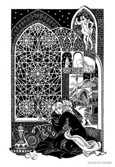 Thousand and one night by ILona Taube, via Behance