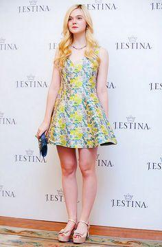 Best Dressed: Elle Fanning in Opening Ceremony Resort 2013