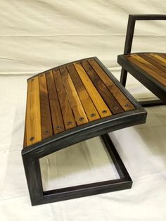 Modern Steel Lounge Chair