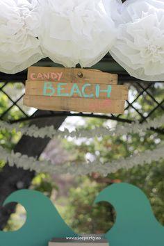 Nice Party comunión surf decoración                                                                                                                                                                                 Más