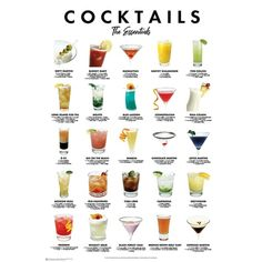 Bar Drinks, Cocktail Drinks, Cocktail Recipes, Alcoholic Drinks, Cocktail List, Beverages, Beach Cocktails, Wine Cocktails, Chocolate Martini