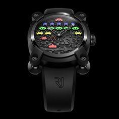 ロマン・ジェローム/Romain Jerome SPACE INVADERS/スペースインベーダー メンズ腕時計