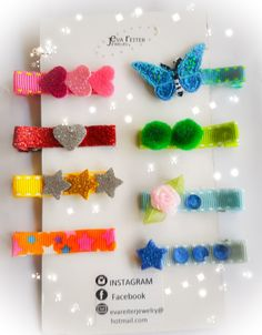 Lovely babyhairclips