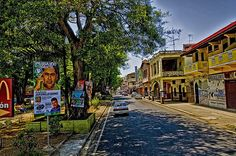 Colon city, Rep of Panama - This marks the Caribbean entrance to the Canal. It was a major port for Spanish ships leaving the Caribbean and heading back to Spain loaded with gold, jewels, spices and foods.