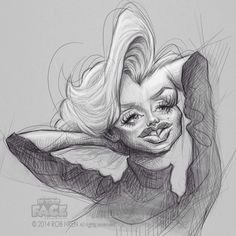Marilyn Monroe Art, Caricature, Art Boards, Arts And Crafts, Drawings, Instagram Posts, Art Art, Image, Craft Items
