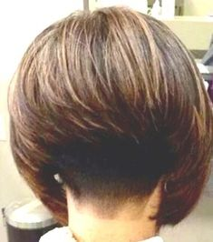 A Line Haircut Short, Short Stacked Wedge Haircut, Short Stacked Bob Haircuts, Short Sassy Haircuts, Inverted Bob Hairstyles, Short Hair With Layers, Undercut Hairstyles, Short Hair Cuts, Stacked Bob Short