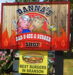 #Branson 's Best BBQ! Danna's is THE place to go for fantastic Food! I go there at least every-other week lol