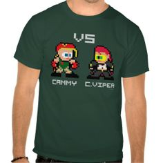 >>>Low Price          8bit Cammy VS C.Viper Tee Shirts           8bit Cammy VS C.Viper Tee Shirts In our offer link above you will seeHow to          8bit Cammy VS C.Viper Tee Shirts please follow the link to see fully reviews...Cleck Hot Deals >>> http://www.zazzle.com/8bit_cammy_vs_c_viper_tee_shirts-235416695899078254?rf=238627982471231924&zbar=1&tc=terrest