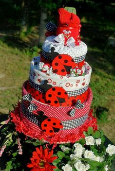 Black, White and Red Baby Shower | Time for the Holidays